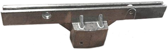Pipe/Square Post Universal Bracket For Street Name Signs 12""