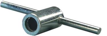 Mounting Wrench For Theft Resistant Nuts