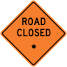 "Road Closed - ""Add A Line""  Construction Sign"