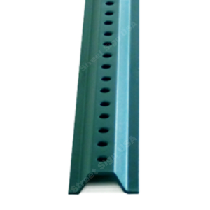 4ft. U Channel Sign Post - Light Duty Green