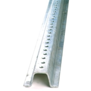 12ft. U Channel Sign Post - Heavy Duty Galvanized
