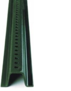 8ft. U Channel Sign Post - Heavy Duty Green
