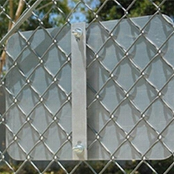 Street Sign USA Chain Link Fence Bracket