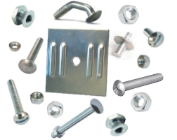 Nuts, Bolts & Sign Related Hardware From Street Sign USA
