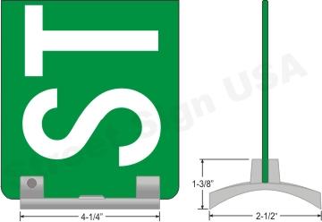 © Street Sign USA Wing #4 Data Spec