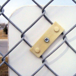Street Sign USA Sign Link Bracket For Chain Link Fences