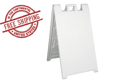 Signicade A-Frame Sign Stand White