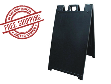 Signicade A-Frame Sign Stand Black