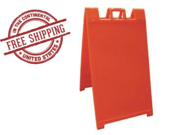 Signicade A-Frame Sign Stand Orange