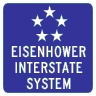 M1-10 Eisenhower Interstate System Sign