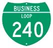 M1-2 Customizable Off-Interstate Loop Shield - 3 Digit Number
