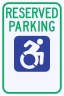 New York State Specified Disabled Parking Sign
