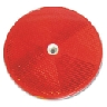 3 Inch Round Red Reflector/Delineator
