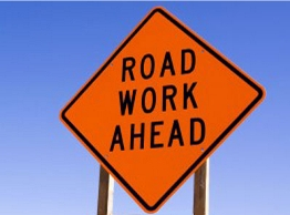 Street Sign USA Road Work Ahead Construction Sign