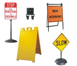 Street Sign USA's Sign Stands & Accessories Category Page