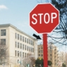 Stop Sign Post Reflectors