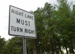 Street Sign USA Regulatory Turn Signs