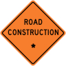 "Road Construction - ""Add A Line"" Construction Sign"